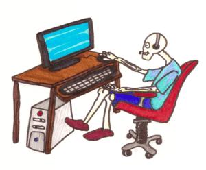 DSE Skele Desk